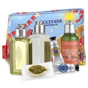 Trousse de mini produits de l'Occitane