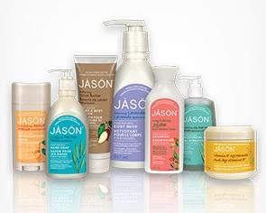 Gamme de produits de la marque californienne Jasön