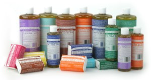 les savons all-in-one du Dr Bronner